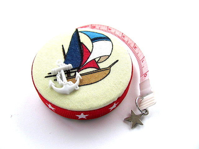 Tape Measure Sailboats Retractable Measuring Tape