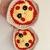 READY TO SHIP Kawaii Pizza Potholder Set - Crocheted, Amigurumi