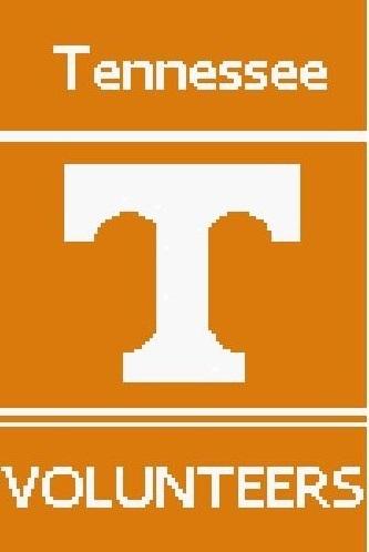 University of Tennessee Volunteers Crochet Pattern  (Graph, SC, C2C, Tunisian,