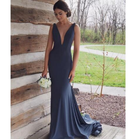 Sexy Long Prom Dresses 2018