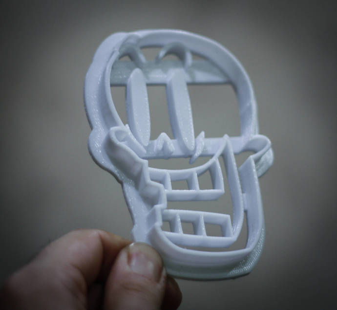 Papyrus Cookie Cutter | undertale | Cookie Cutters | biscuit cutters | party