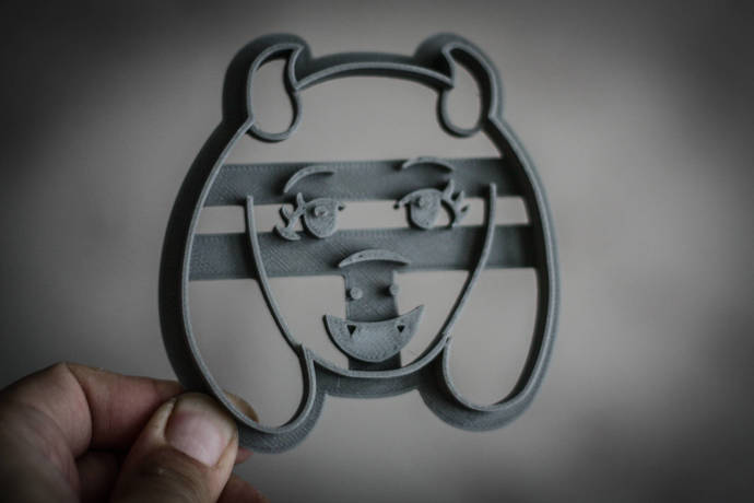 Toriel Cookie Cutter   undertale   Cookie Cutters   biscuit cutters   party