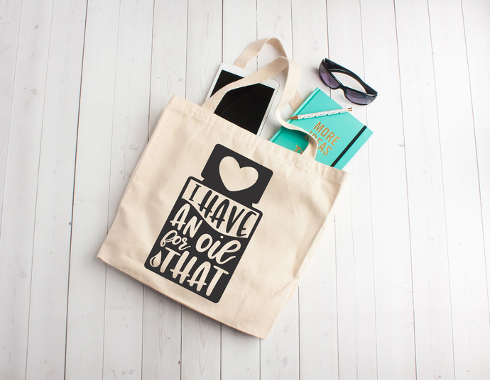 I have an oil for that, essential oil bags, essential oils, essential oil tote,