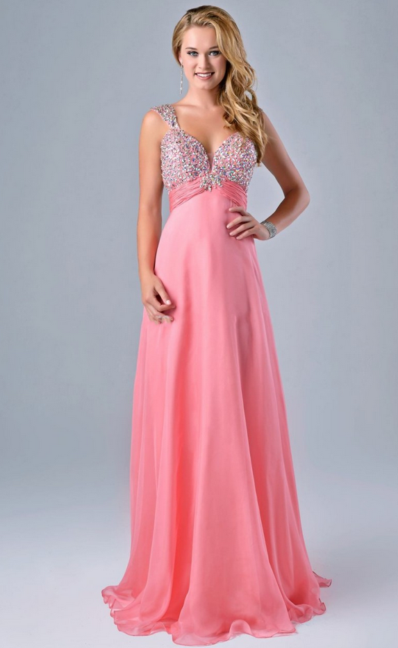 Coral Maid Of Honor Dresses For Weddings Open By Prom Dresses On