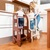 Montessori kitchen step stool with changing heights/ step stool for children/
