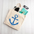 Distressed Anchor, Nautical Bags, tote bag, custom tote bags, bachelorette party