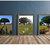 Nature photography print set, wildflower wall art, modern rustic, modern