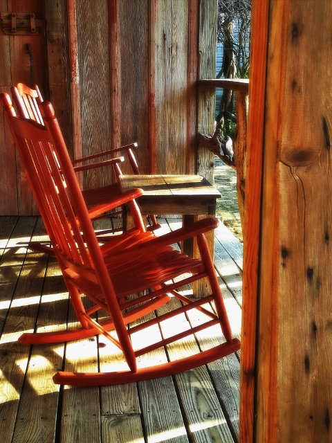 Western photography, porch print, country decor, rocking chair print, rustic