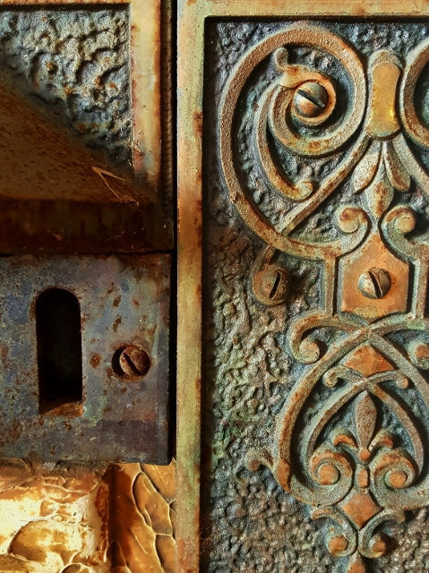 Industrial photography, modern farmhouse, iron keyhole, fixer upper style, wall
