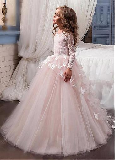 d3111ad005 Stunning Tulle and Lace Scoop Neckline Ball Gown by PrettyLady on