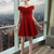 Cheap Red Party Homecoming Dress Engrossing Short Party Dresses With