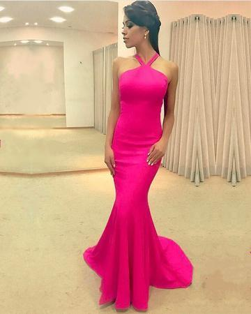 Sexy Mermaid Prom Dress, Simple Long Evening Dress, Formal Dress