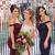 Sexy Off Shoulder Mermaid Prom Dress, Appliques Long Bridesmaid Dress