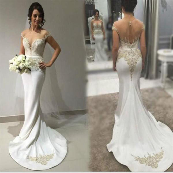 Sexy Bridal Dressesmermaid Wedding By Prom Dresses On Zibbet