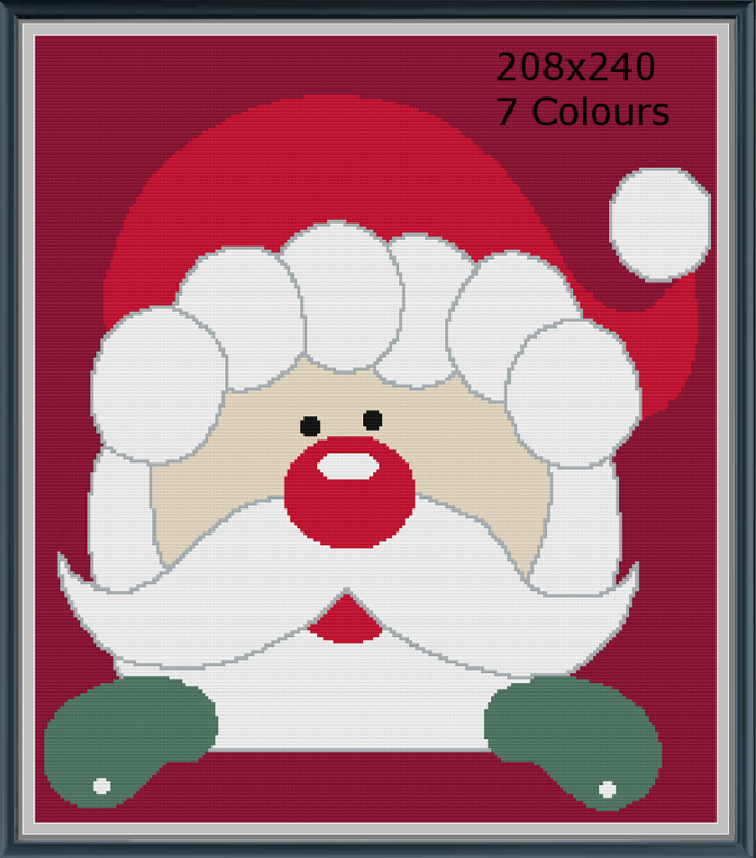Christmas Santa Throw