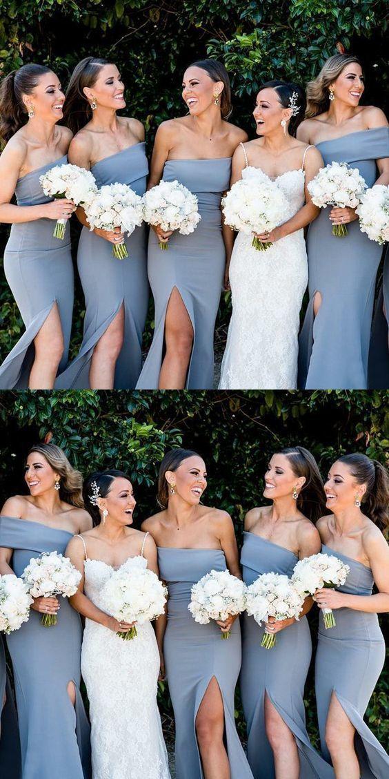 9f43128a4c simple dusty blue long bridesmaid dresses