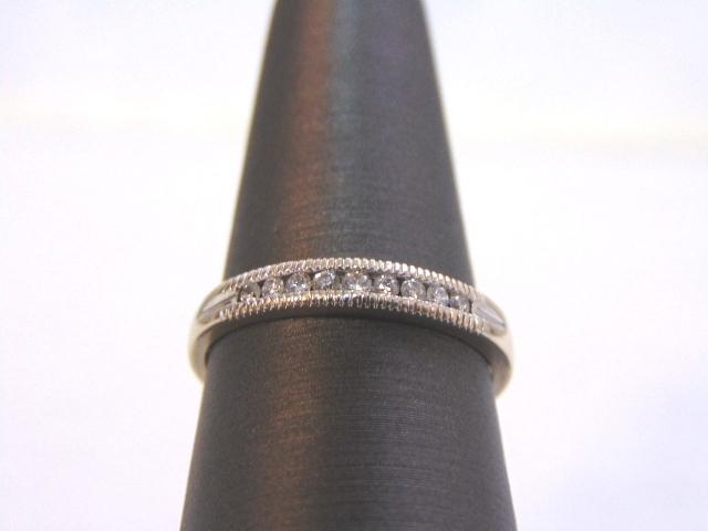 Vintage Estate 14k White Gold Diamond Ring 2.5g #E1849