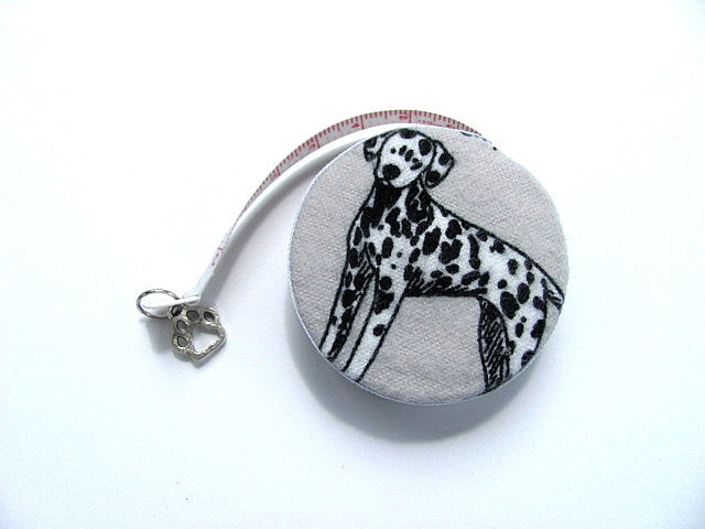 Measuring Tape Dalmatian Dog Retractable Tape Measure