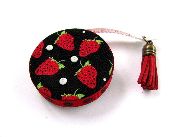 Tape Measure Strawberries Retractable Measuring Tape
