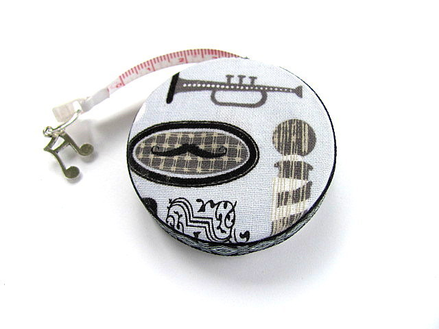 Measuring Tape Barbershop Singing Retractable  Tape Measure