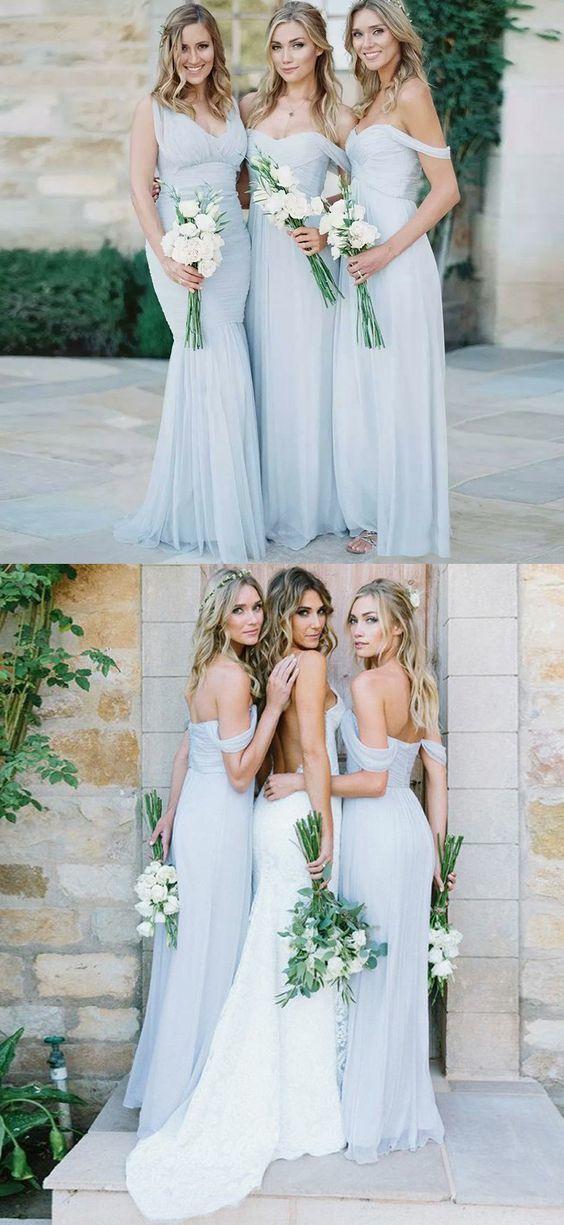 Mermaid Bridesmaid Dresses,V-Neck Bridesmaid by Hiprom on Zibbet
