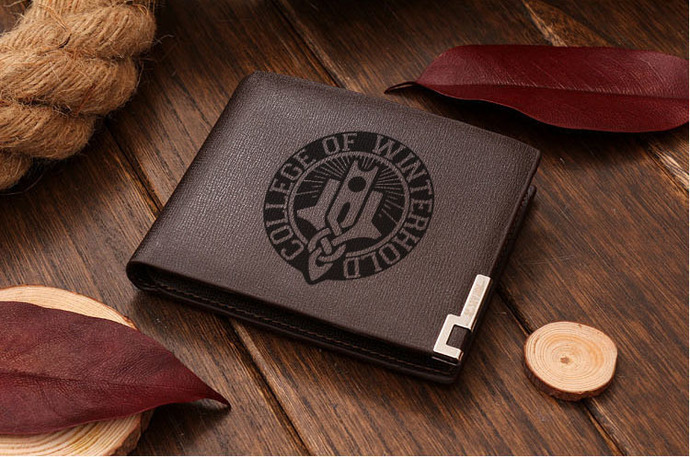 College of Winterhold Leather Wallet