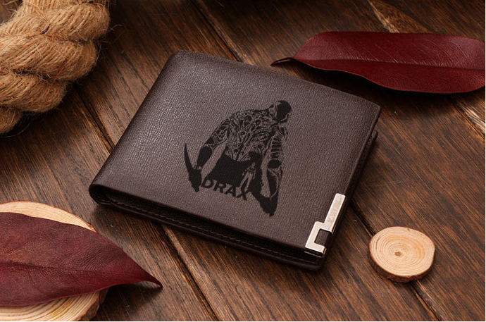 Guardians of the Galaxy Drax Leather Wallet