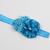 Infant Headband//0-6 Month//Foldover Elastic Headband - Electron Blue