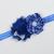 Infant/Toddler Headband//6-24 Month//Foldover Elastic Headband - Royal Blue