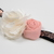 Infant/Toddler Headband//6-24 Month//Foldover Elastic Headband - Cream and Blush