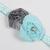 Infant/Toddler Headband//6-24 Month//Foldover Elastic Headband - Turquoise and