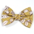 Large Cotton Bow Clip//Clip on Bow Tie - Mossy Rose