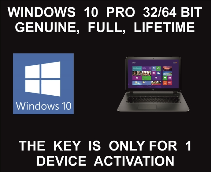 Windows 10 Professional License Key + Download Link: Full, Lifetime Activation: