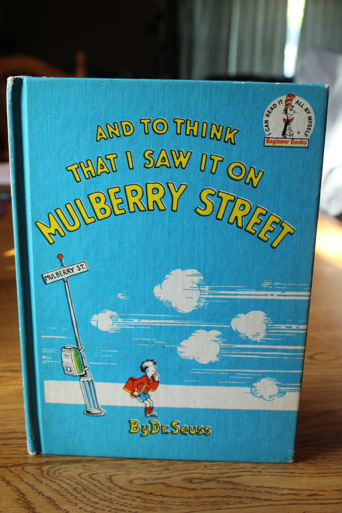 And to Think That I Saw It On MULBERRY STREET By Dr Seuss 1937