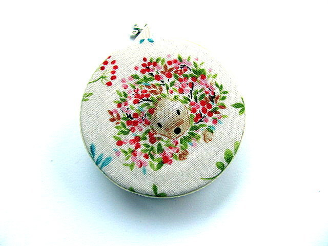 Tape Measure Hedgehogs and Flowers Retractable Measuring Tape