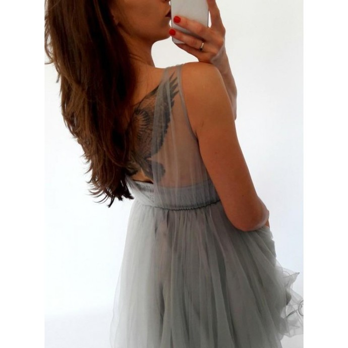 H68 Backless Pretty Short/Mini Homecoming dress ,Homecoming Dresses,Graduation