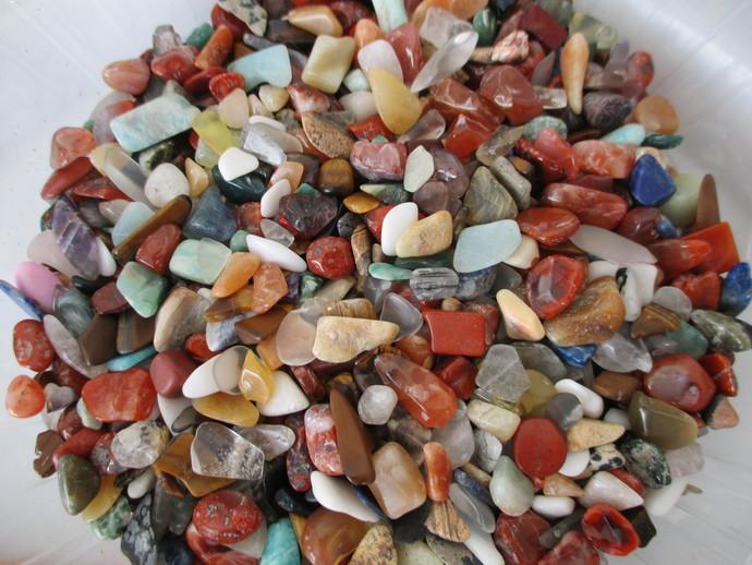 Mixed Bag Of Genuine Polished Gem Stones
