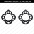 Abstract earrings,Floral earrings svg,Jewelry svg,leather
