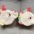 READY TO SHIP Kawaii Unicorn Coaster Set - Crocheted, Amigurumi