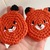 READY TO SHIP Kawaii Woodland Fox Coaster Set - Crocheted, Amigurumi