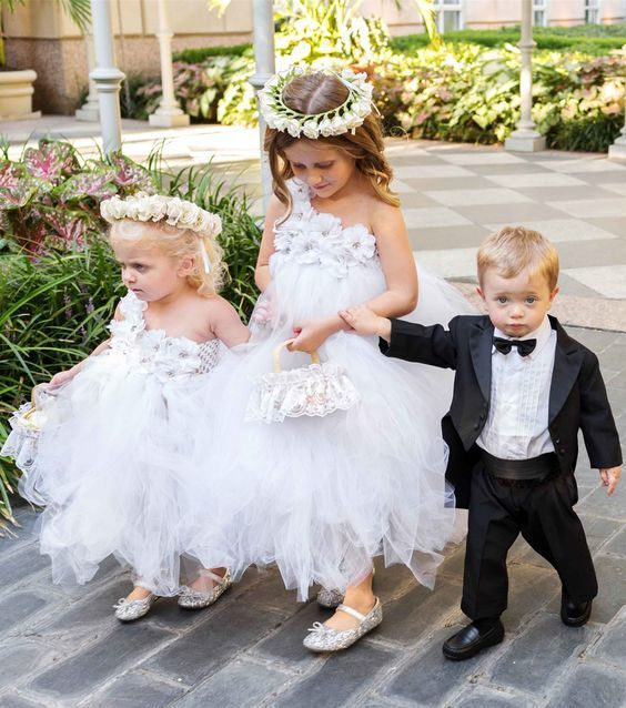 76eb7d21a3bc cute ball gown flower girl dresses with flowers, lovely little girl dresses,
