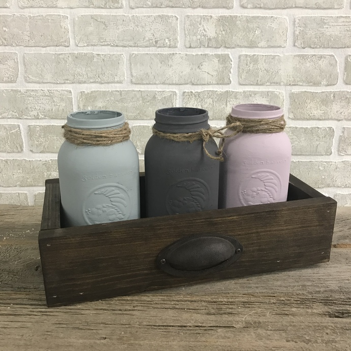 DIY- Drawer Jar Caddy