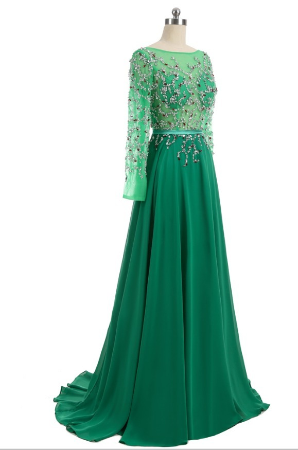 back silk field slacking crystal open long pajama evening gown evening gown