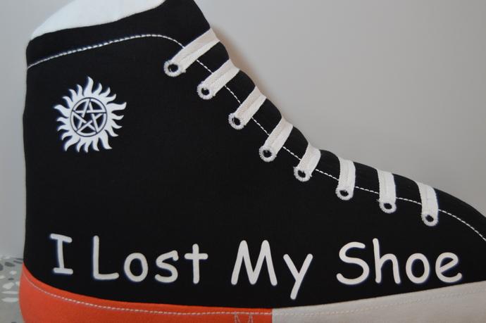 Supernatural shoe pillow