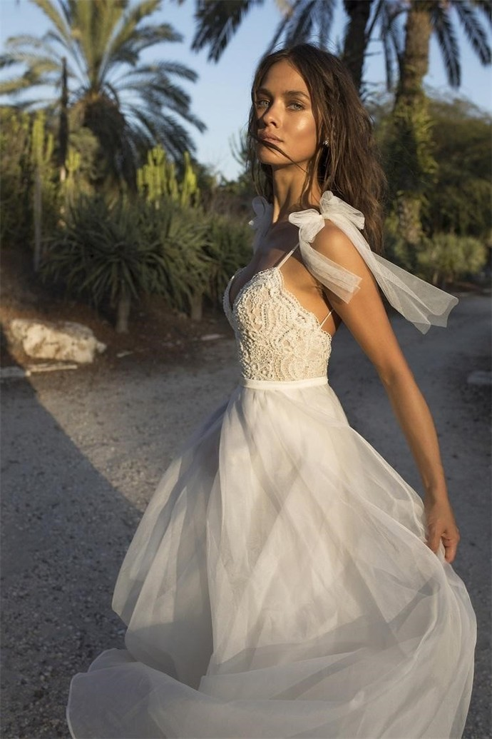 Asaf dadush boho wedding dresses backless by prom dresses on zibbet asaf dadush boho wedding dresses backless spaghetti lace applique beaded pearls junglespirit Images