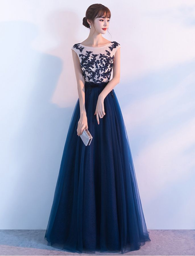 ONE IN A MILLION ELEGANT LACE EVENING DRESS