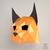 Bobcat Papercraft Mask, Party Mask, Cosplay Helmet, Cat Origami, 3D papercraft,