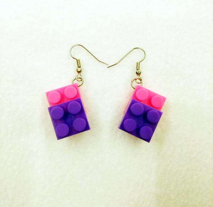 Building Block Earrings