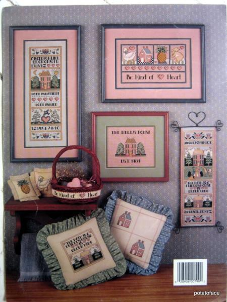 Bless This Home  Vintage Cross Stitch Pattern