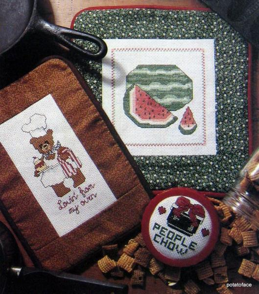 Contest Favorites Cross Stitch Patterns from Leisure Arts Magazine Vintage